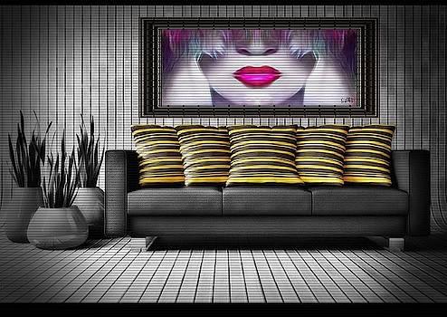 Lady Fashion Beauty by Swedish Attitude Design