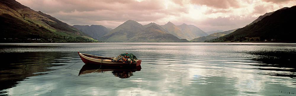 Lake Duich Highlands Scotland  by Panoramic Images