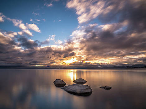 Lake Tahoe Sunset by Martin Gollery