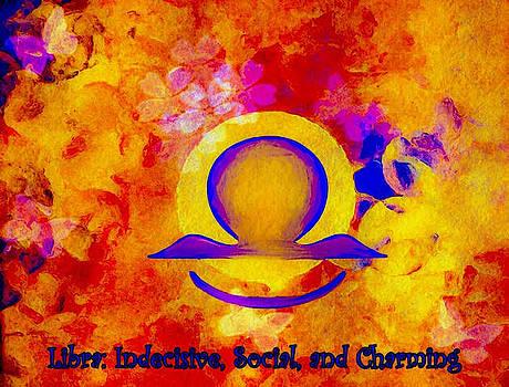Libra Sun Sign by Carol Stanley
