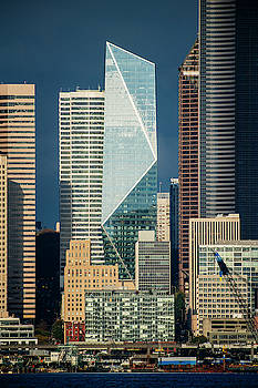 Modern Architecture In City, Seattle by Panoramic Images