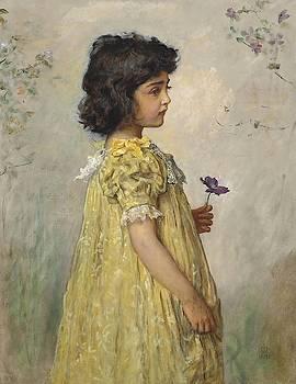Pensive by John Everett Millais