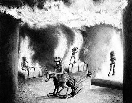 Philippa The Crackling Rider - Artwork by Ryan Nieves