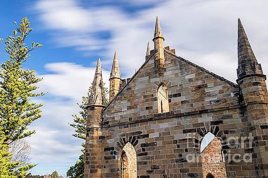 Port Arthur historical site in Port Arthur, Tasmania. by Rob D