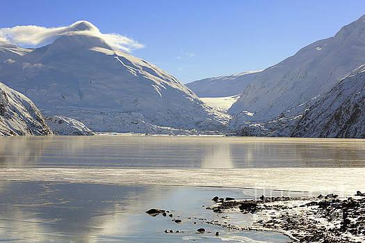 Portage Lake Alaska by Louise Heusinkveld