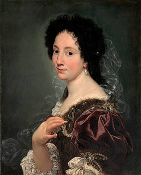 Giovanni Battista Gaulli - Portrait of a Woman