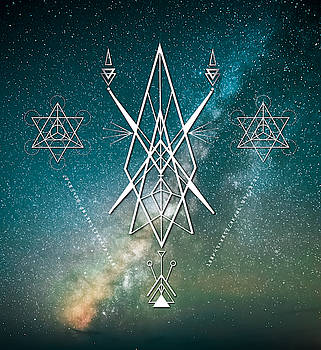 Sacred Geometry  by Nathalie DAOUT