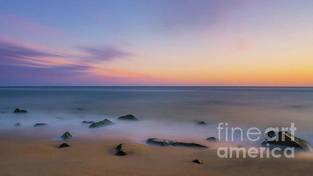 Sandy Hook Sunrise  by Michael Ver Sprill