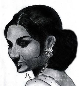 Sharmila Tagore by Ali Muhammad