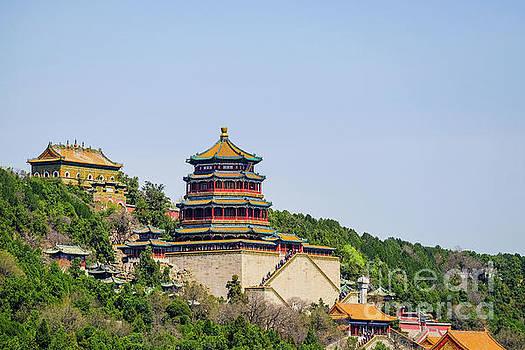 Tower of Buddhist Incense by Iryna Liveoak