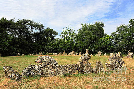 The Kings Men Stone Circle, Rollright Stones, by Dave Porter