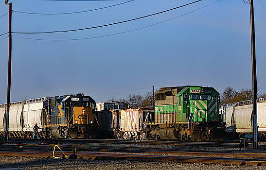 2 Vetern Locos 10 by Joseph C Hinson Photography