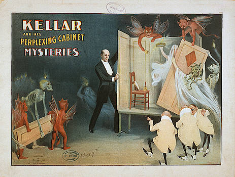 Vintage poster - Kellar the Magician by Vintage Images