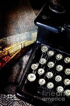 Vintage Typewriter by Pamela Moran
