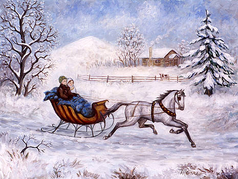 Linda Mears - Winter Sleigh Ride