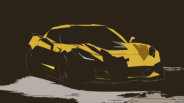 2015 Chevrolet Corvette Z06 by P Shape