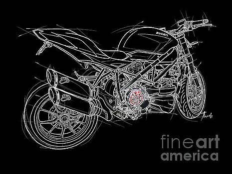 2015 Motorcycle by Drawspots Illustrations