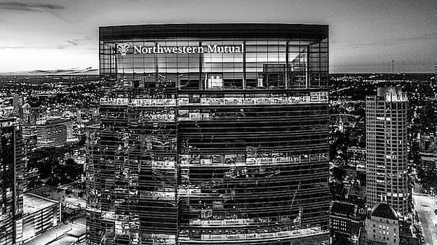2019-034-365 Top of the Tower Monochrome by Randy Scherkenbach