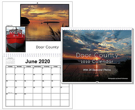 2020 Wall Calendar by David T Wilkinson