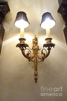 Susan Carella - 24-karat Gold Sconce - New Orleans Mansion
