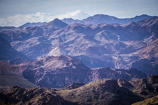 Red Rock Canyon Landscape Near Las Vegas Nevada by Alex Grichenko