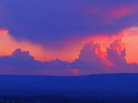 Arizona Sunset  by James Welch