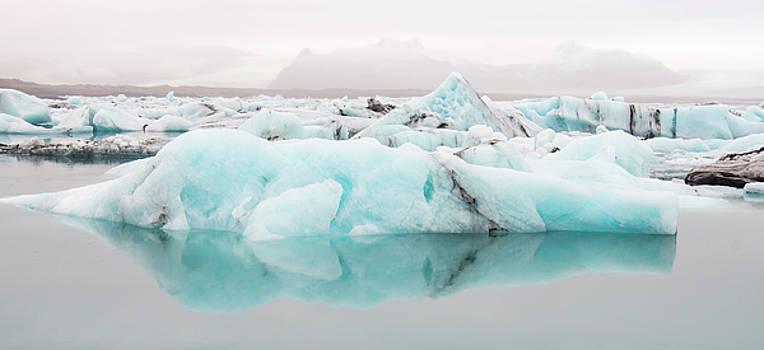 Glacier Lagoon, Iceland by Rick Daley