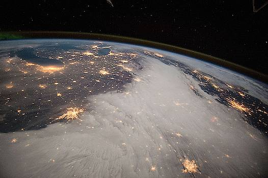 Great Lakes and Central U.S. by Celestial Images