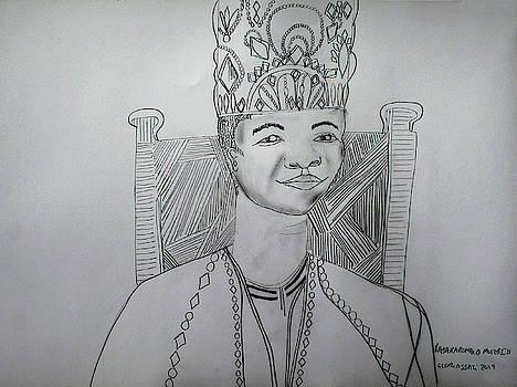 His Royal Highness Kabaka Ssabasajja Ronald Edward Frederick Kimera Muwenda Mutebi II  by Gloria Ssali
