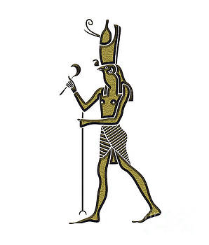 Horus - God of Ancient Egypt by Michal Boubin