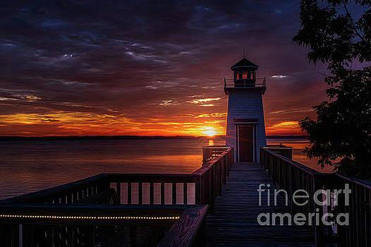 Lighthouse Landing by Warrena J Barnerd