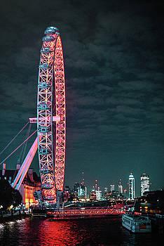 London Eye by Chris Thodd
