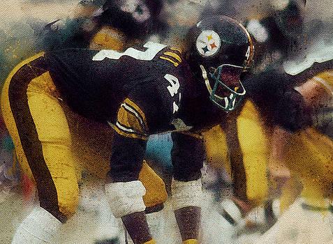 Mel Blount.Pittsburgh Steelers. by Nadezhda Zhuravleva