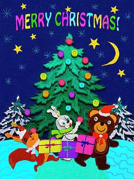 Merry Christmas by Elena Kosvincheva