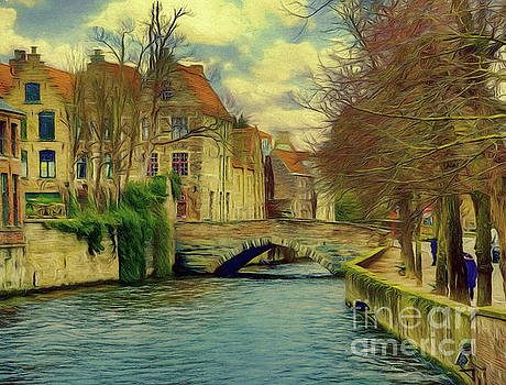 3 Nights In Brugge Series No 29 by Leigh Kemp