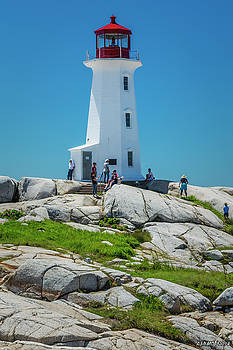 Peggy's Cove Lighthouse by Ken Morris