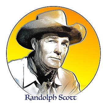 Randolph Scott by Greg Joens