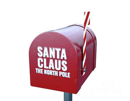 Santa Mailbox by Allan Swart