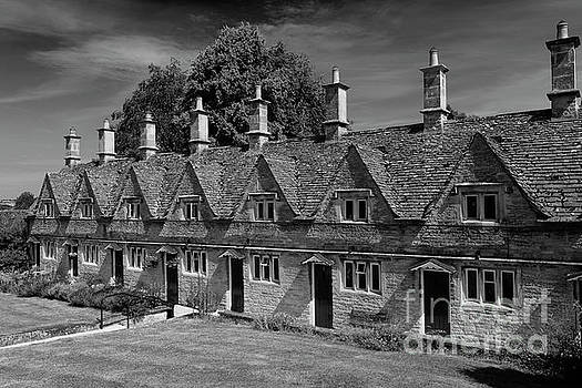 The stone built Almshouses at Chipping Norton by Dave Porter