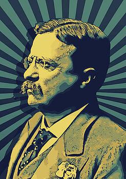 Theodore Roosevelt by Elena Kosvincheva