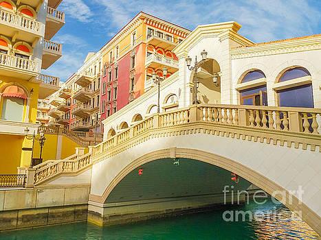 Venice Doha Bridge by Benny Marty