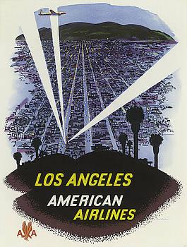 Vintage poster - Los Angeles by Vintage Images