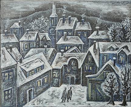 Winter landscape by Milen Litchkov
