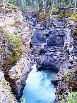Campwillowlake - Athabasca Falls Jasper National Park - Glacial River