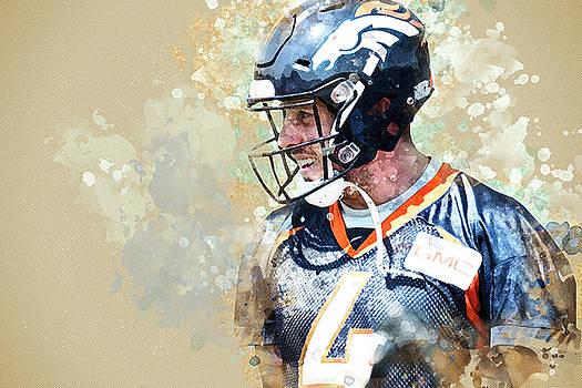 Denver Broncos.Case Keenum. by Nadezhda Zhuravleva