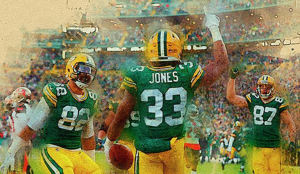 Green Bay Packers. by Nadezhda Zhuravleva