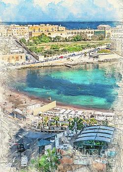 Malta St Julians by Justyna JBJart