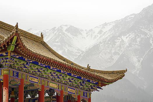 Mati Si Temple Village Zhangye Gansu China by Adam Rainoff