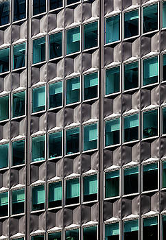 Metal and Glass Office Building NYC by Robert Ullmann