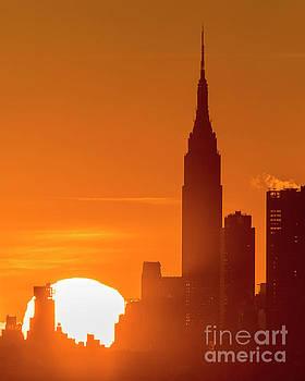 New York City Sunrise by Zawhaus Photography